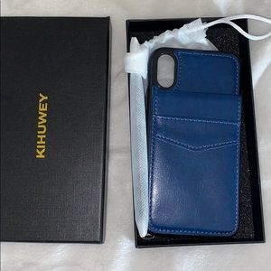 iPhone 10 wallet phone case
